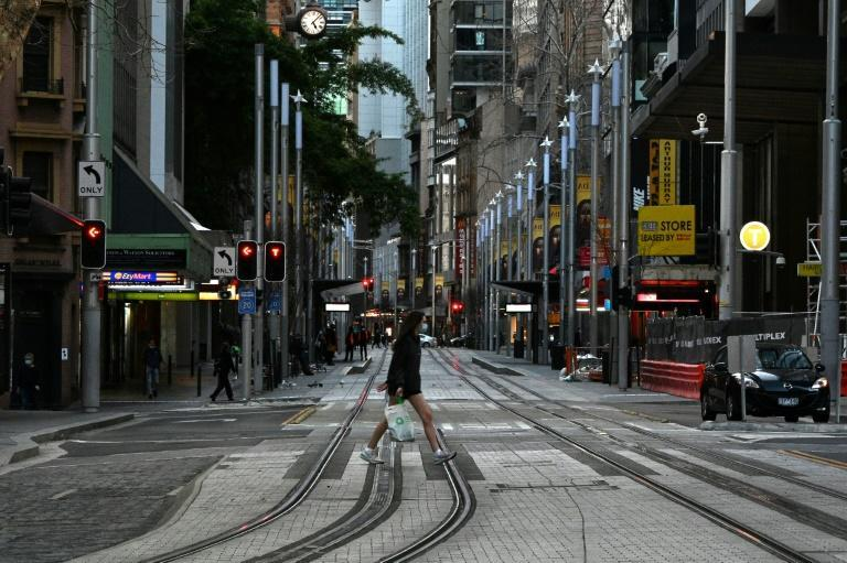 Australia's largest city Sydney is set to emerge from a coronavirus lockdown of more than 100 days (AFP/Saeed KHAN)