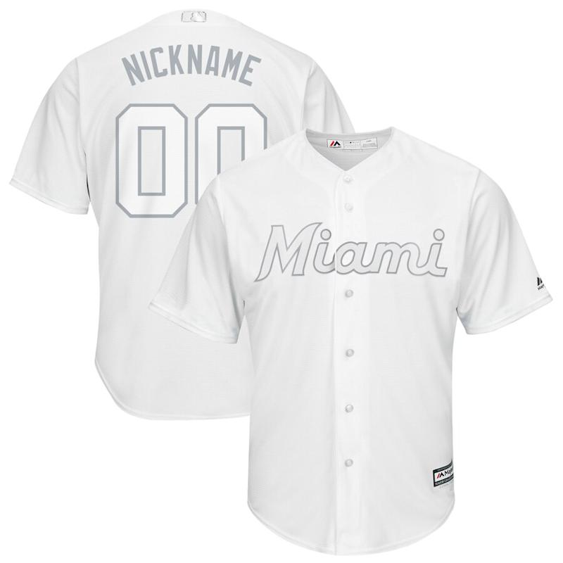 Miami Marlins 2019 Players' Weekend Pick-A-Player Roster Jersey