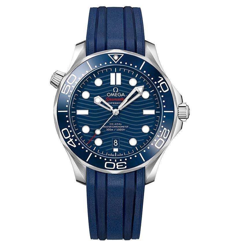 "<p><strong>$4,900</strong></p><p><a class=""link rapid-noclick-resp"" href=""https://www.omegawatches.com/en-us/watch-omega-seamaster-diver-300m-omega-co-axial-master-chronometer-42-mm-21032422003001"" rel=""nofollow noopener"" target=""_blank"" data-ylk=""slk:LEARN MORE"">LEARN MORE</a></p><p>The choice of James bond since 1995, the Omega Seamaster 300M diver gave a new spin in 1993 to the age-old Seamaster launched in 1957. There is no doubt the endorsement of Her Majesty's blunt instrument has done much to secure the longevity of this model. The Seamaster 300M has evolved a lot over the years, yet managed to dance the tightrope between dressy and sporty, leaning this way with one edition and that way with another. For our money, leaning more towards the functional and steely will always win out. You can't go wrong with the latest take, for instance, which features a blue dial, a steel case, and blue rubber strap, with just a hint of playfulness in the etched ocean waves across the dial.</p>"