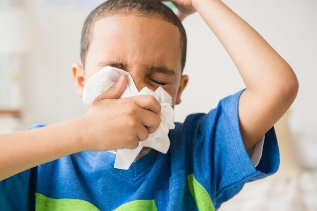 Symptoms likefever, cough and congestion are still common in children infected with the delta variant of the coronavirus. (Photo: JGI/Jamie Grill via Getty Images)