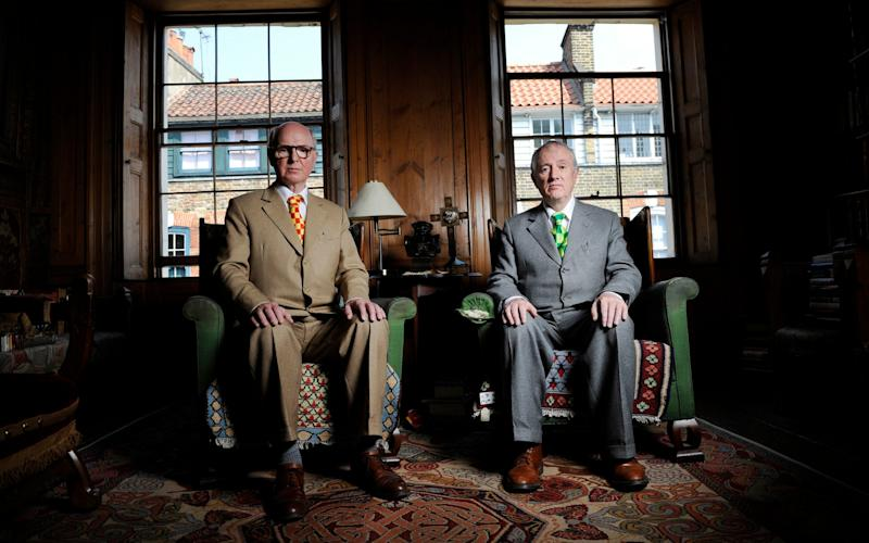 Gilbert and George - Credit: David Rose