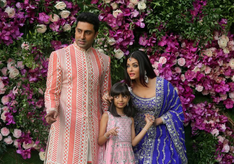 Bollywood star Aishwarya Rai and daughter in hospital with COVID-19: media