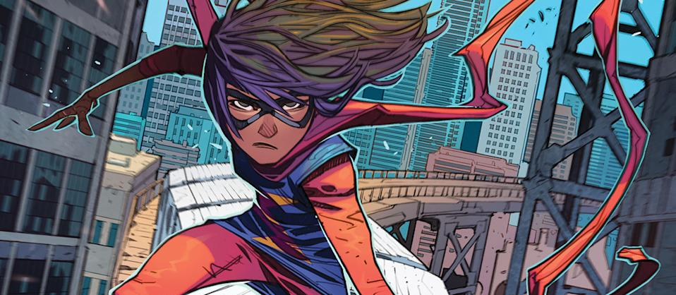 Kamala Khan a.k.a. Ms. Marvel is Marvel Comics's first Muslim superhero (Photo: Marvel Comics)
