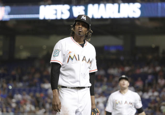 The Marlins aren't exactly a hot ticket in Miami right now. (AP Photo)