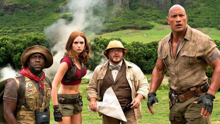 "Una escena de ""Jumanji: The Next Level"", que se encuentra ya en cartelera."