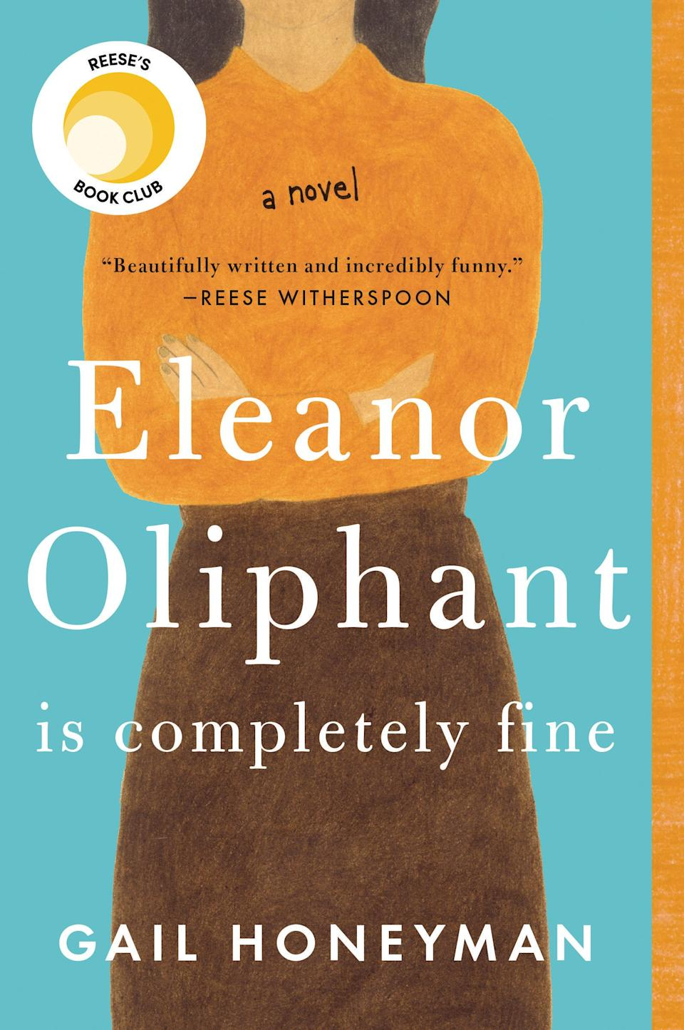 Eleanor Oliphant Is Completely Fine (Photo via Amazon)