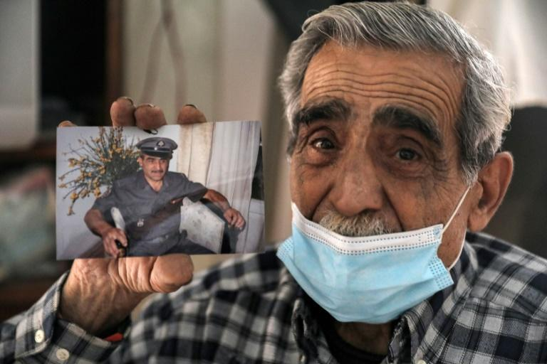 Jean Assaf, an 80-year-old retired Lebanese policeman, earns a monthly pension worth around $180 down from $1,400 before the economic crisis