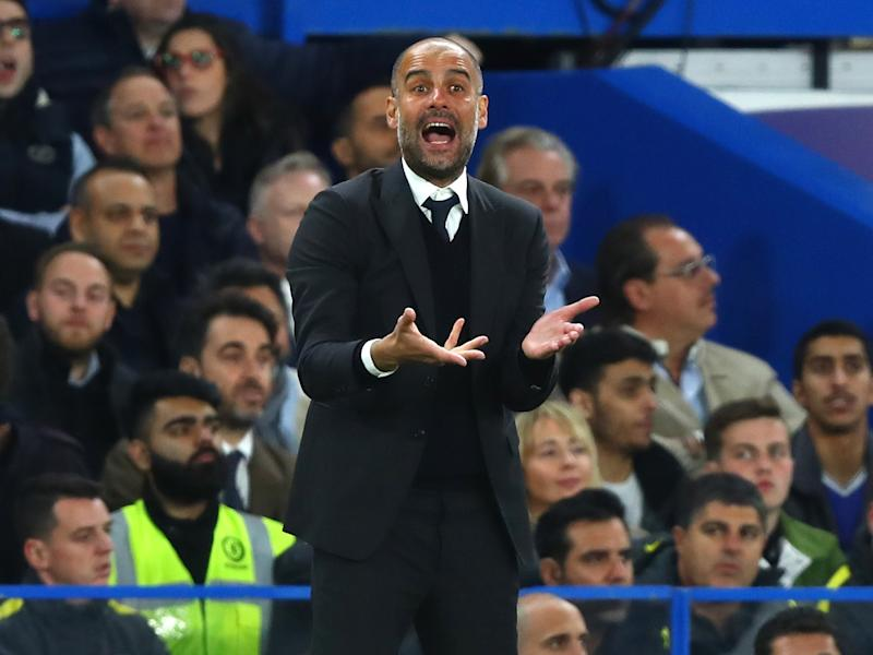 Guardiola said this season has been a 'lesson' for him: Getty
