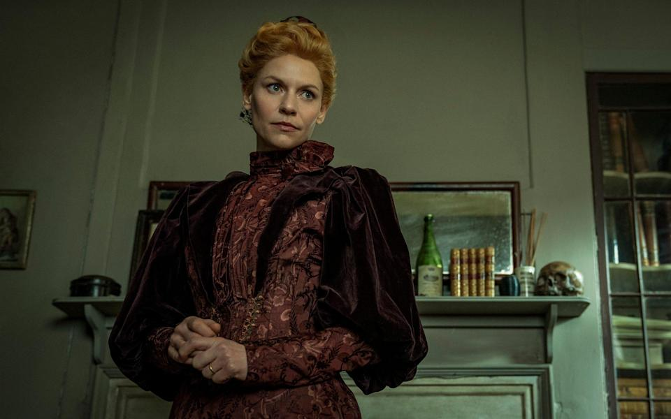Danes plays Cora Seaborne, a widow who moves to the Essex village of Aldwinter and becomes intrigued by a local superstition about a mythical creature