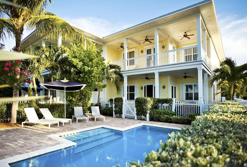 "<p>It doesn't get much more idyllic than a luxurious island of villas located a stone's throw from the hustle-and-bustle of Key West. <a href=""https://www.sunsetkeycottages.com/"" rel=""nofollow noopener"" target=""_blank"" data-ylk=""slk:Sunset Key Cottages"" class=""link rapid-noclick-resp"">Sunset Key Cottages</a> is considered by many to be the best resort in the Sunshine State for many reasons. Maybe its the bougainvillea-laced cottages, award-winning restaurant, or unique personal touches, like breakfast baskets delivered to your door, that make this place beloved by visitors of all ages. </p>"