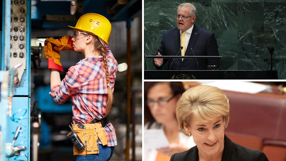 Morrison Government wants more Aussie tradies. Source: Getty