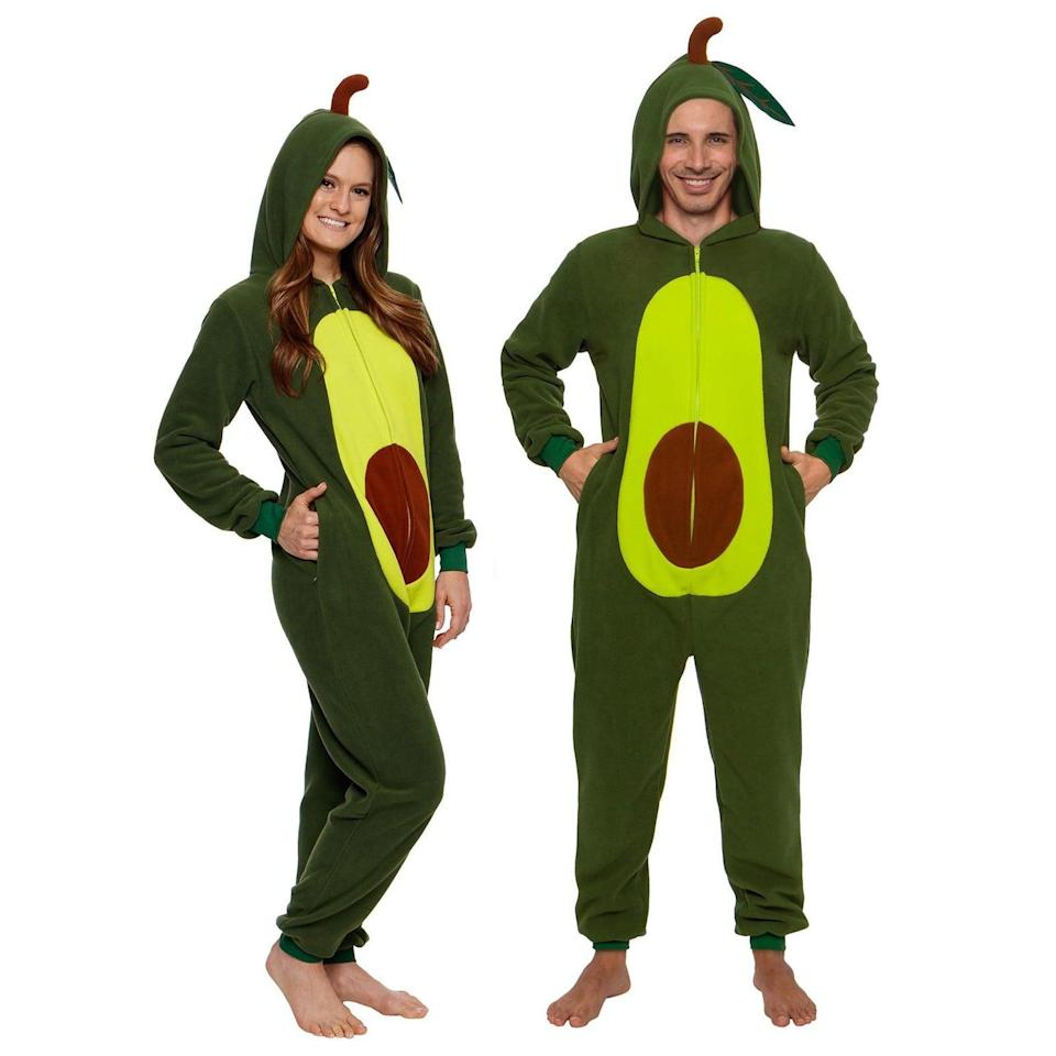 <p>If you're a millennial, you might as well go trick-or-treating in this <span>Funziez! Avocado Slim Fit Adult Unisex Novelty Union Suit</span> ($30). It's cozy and, after all, the only thing we care about. </p>