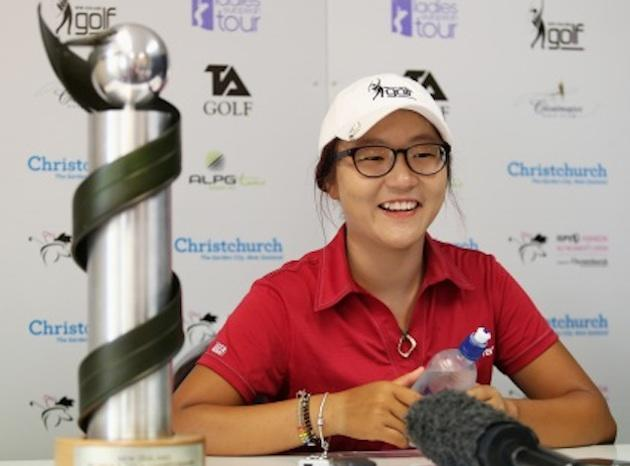 15-year-old Lydia Ko won the New Zealand Women's Open, her third professional title in 13 months — Getty