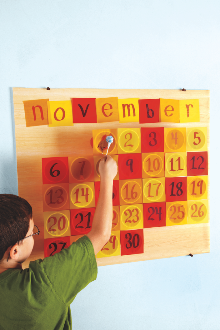 """<p>The crafting fun doesn't have to end after Oct. 31. If you're not sure what to do with all of that extra candy, create a candy calendar to help portion things out. </p><p><strong><em><a href=""""https://www.womansday.com/home/crafts-projects/how-to/a6020/create-a-halloween-candy-calendar-124246/"""" rel=""""nofollow noopener"""" target=""""_blank"""" data-ylk=""""slk:Get the Candy Calendar tutorial"""" class=""""link rapid-noclick-resp"""">Get the Candy Calendar tutorial</a>. </em></strong></p><p><a class=""""link rapid-noclick-resp"""" href=""""https://www.amazon.com/UNIQOOO-Wrapping-Assorted-Christmas-Shredded/dp/B07SMS7RK5?tag=syn-yahoo-20&ascsubtag=%5Bartid%7C10070.g.2488%5Bsrc%7Cyahoo-us"""" rel=""""nofollow noopener"""" target=""""_blank"""" data-ylk=""""slk:SHOP TISSUE PAPER"""">SHOP TISSUE PAPER</a><br></p>"""
