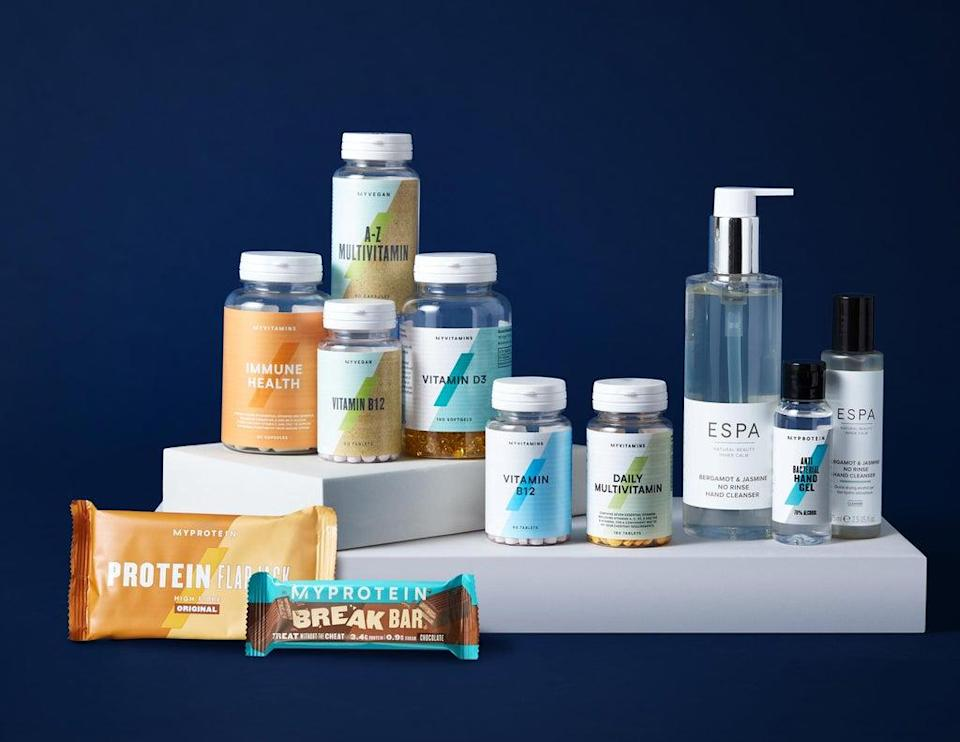 THG sells beauty and fitness products. (The Hut Group/PA) (PA Media)