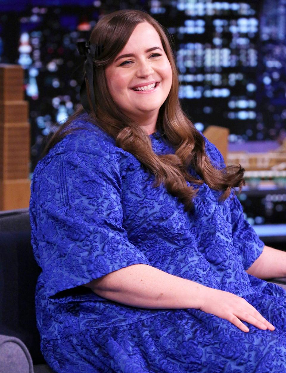 <p>Aidy Bryant guest stars on <em>The Tonight Show with Jimmy Fallon</em> on Monday in N.Y.C.</p>
