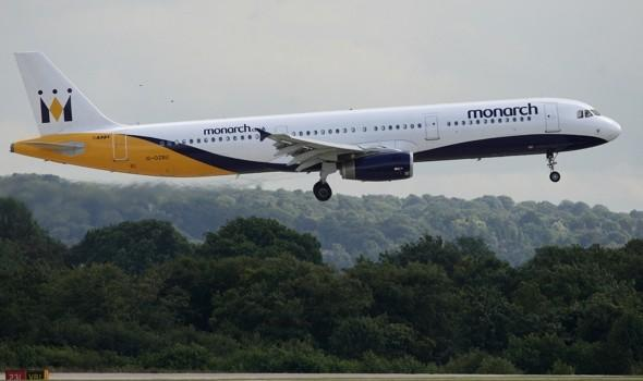 'Terror' as Monarch passengers hear pilot's Mayday call moments before plane drops