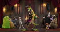 """This image released by Sony Pictures shows a scene from """"Hotel Transylvania: Transformania."""" (Sony Pictures via AP)"""