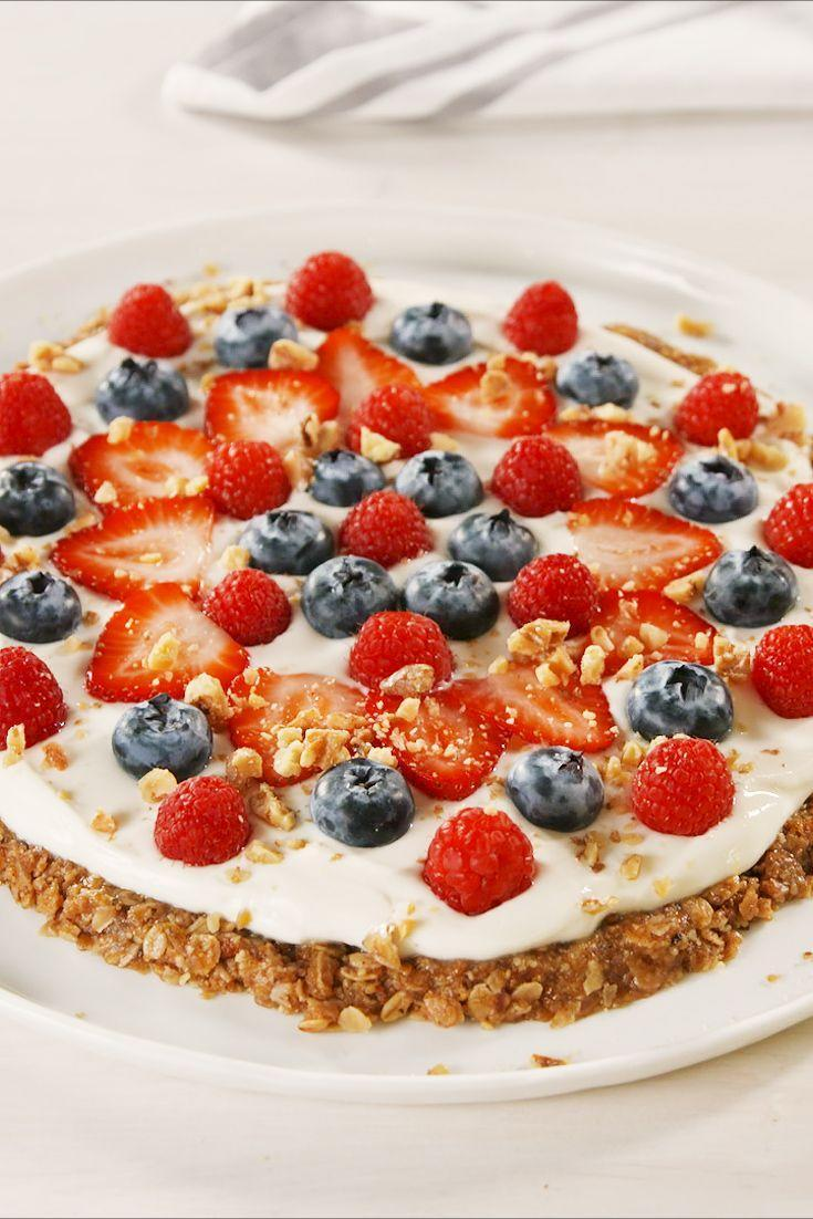 "<p>This sweet and nutty breakfast pizza will have you jumping out of bed in the morning. </p><p>Get the recipe from <a href=""https://www.delish.com/cooking/recipe-ideas/a23743772/granola-breakfast-pizza-recipe/"" rel=""nofollow noopener"" target=""_blank"" data-ylk=""slk:Delish"" class=""link rapid-noclick-resp"">Delish</a>. </p>"