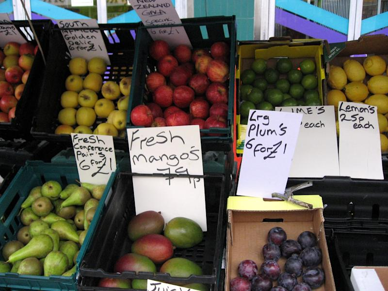 Greengrocers' apostrophes: Fruit and veg merchants aren't known for their grammar skills: Duncan C/Flickr