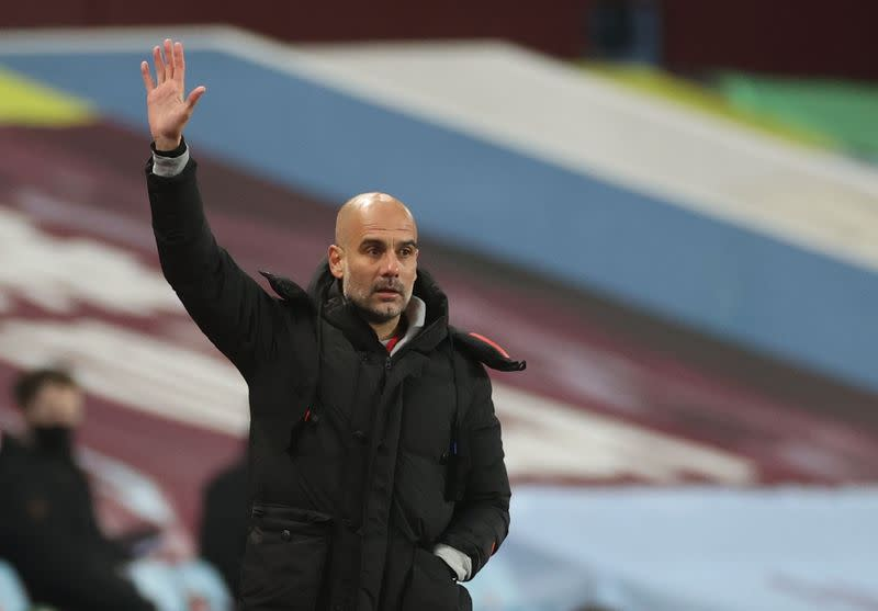 Premier League - Aston Villa v Manchester City