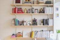<p>Even if you're not an avid reader, a bookshelf is a great way to display odds and ends that you've collected over the years, or to show off your taste. It can also help fill an empty wall or make use of a small space.</p>