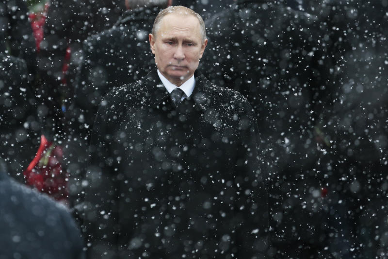 AP PHOTOS: A selection of pictures from the past week