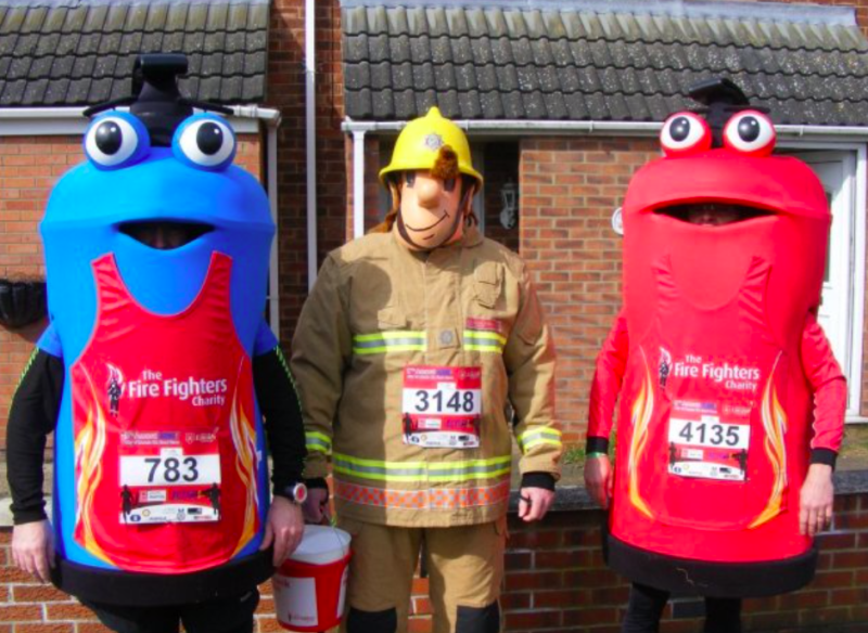 The character is being replaced by gender neutral fire extinguishers (Lincolnshire Fire and Rescue Service)