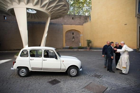 Pope gifted 20-year-old Renault