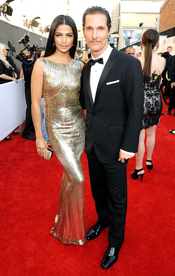 "<p>With two children together, actor Matthew McConaughey and model girlfriend Camila Alves were pretty committed already, so why not make it official? The couple, who have been together for more than four years, got engaged on Christmas and were clearly excited to share the news with the world, when McConaughey tweeted out a photo of him kissing his new fiancée along with the statement, ""Just asked Camila to marry me, merry Christmas.""</p>"