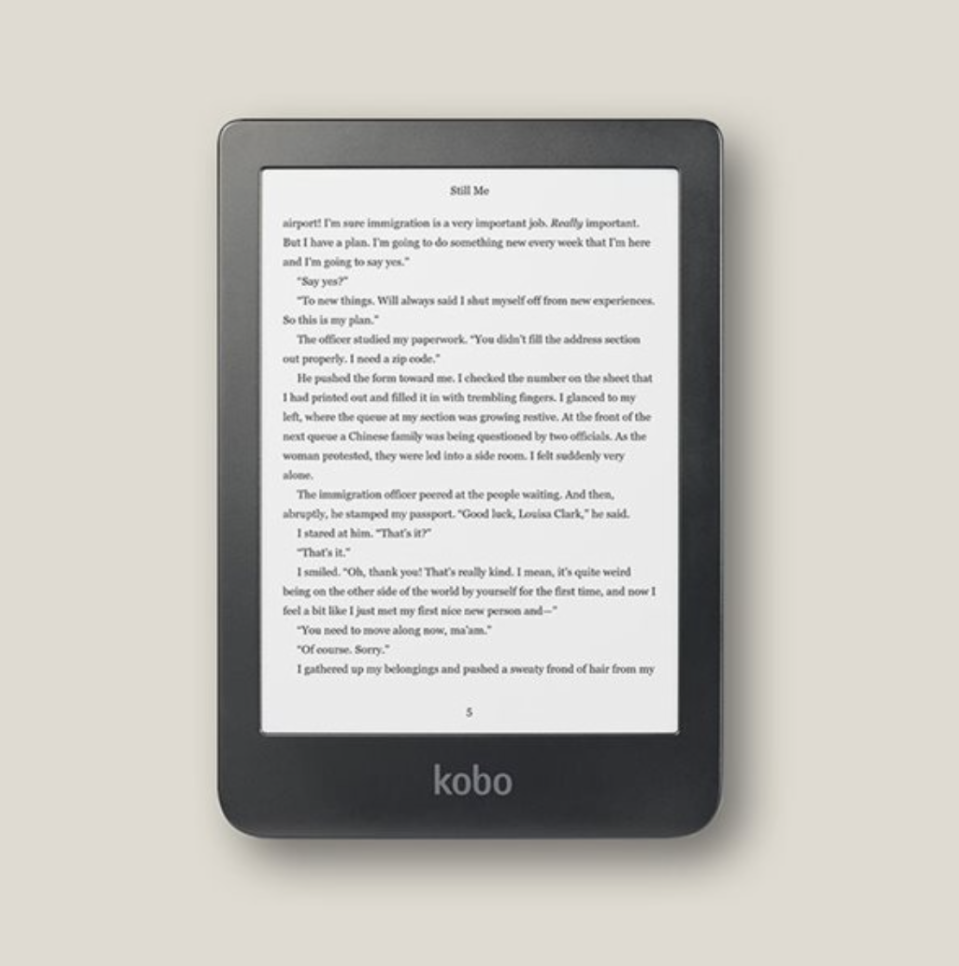 Kobo Clara HD - Indigo, $120 (originally $150).