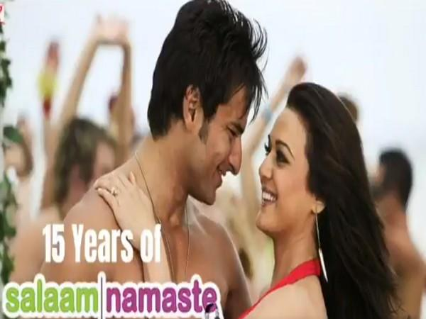 'Salaam Namaste' completed 15 years of its release today (Image source: Twitter)