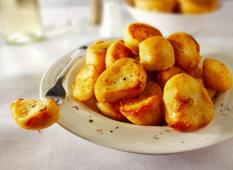 Warning: Crispy roast potatoes are included in the list of foods that could cause cancer (Rex)