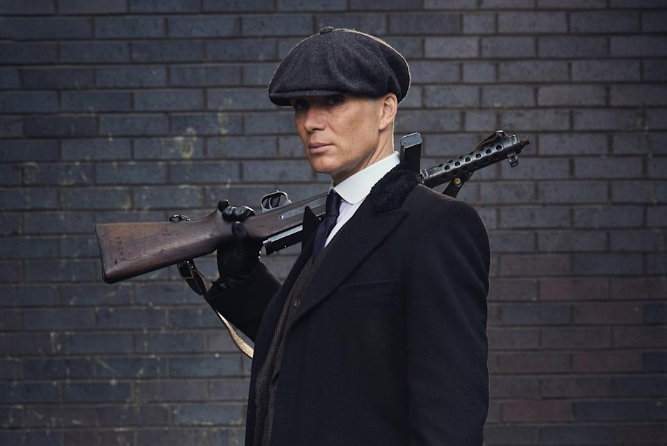 TV star: Cillian Murphy as Tommy Shelby in Peaky Blinders (BBC)