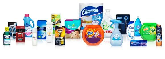 Procter & Gamble's 20 most popular brands