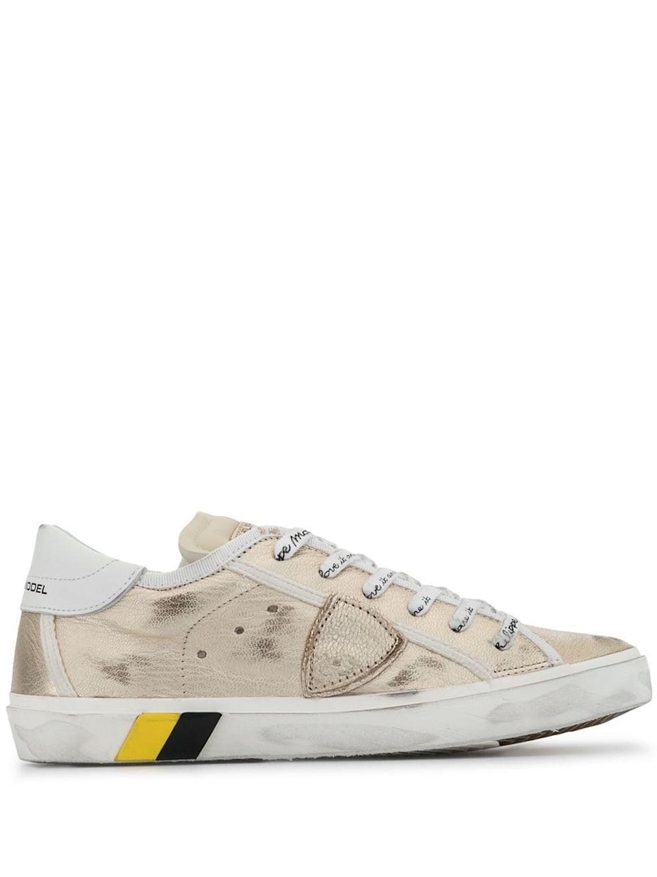 <p>The <span>Philippe Model Paris Sneakers</span> ($271, originally $475) normally come with quite the hefty price tag, but these flashy kicks are marked down.</p>