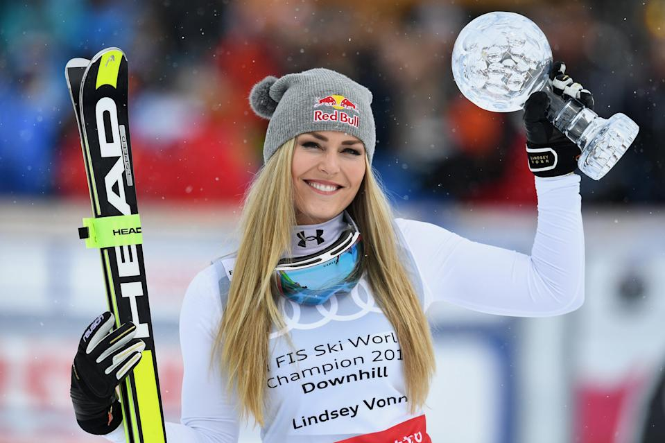 Lindsey Vonn defends herself from body-shaming on Instagram  (Getty Images)