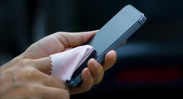 A study has found mobile phones carry seven times more bacteria than a toilet seat. (Getty)