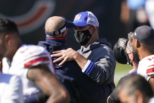 New York Giants coaches taking the blame for 0-3 start