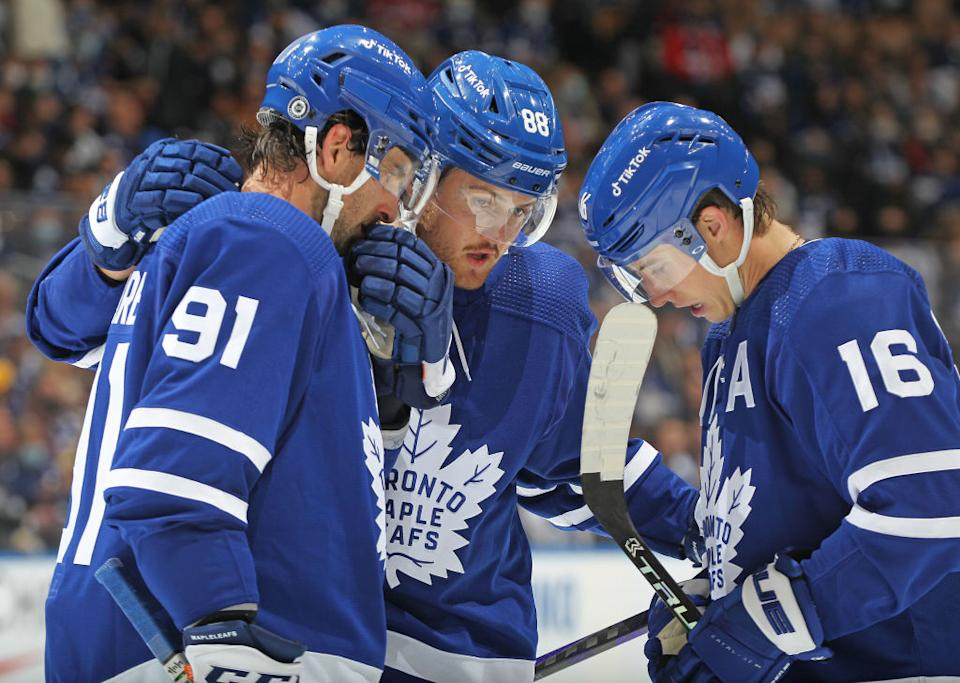 With a value of $2 billion, the Maple Leafs come in slightly ahead of the New York Rangers on Sportico's most valuable NHL franchises list. (Getty)