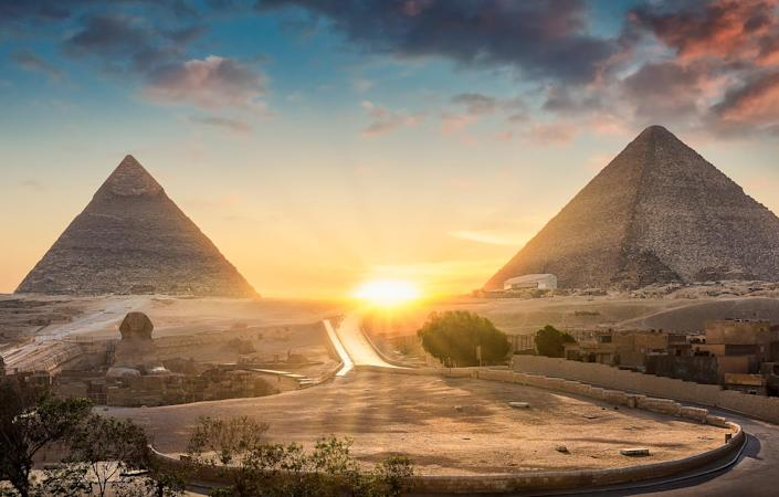 Enjoy the spectacle of the Pyramids before sailing the Nile - Getty