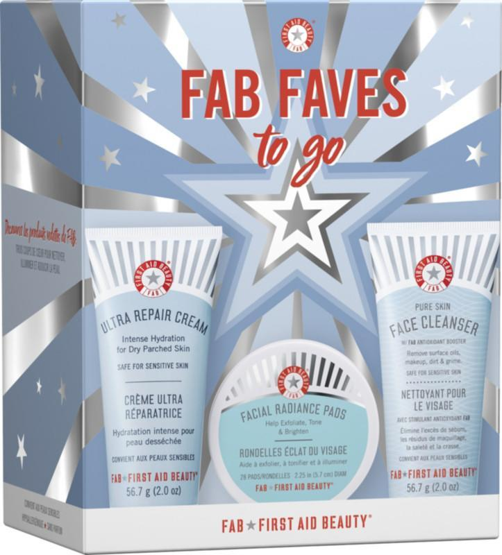 First Aid Beauty FAB Faves to Go Kit. (Photo: Ulta)
