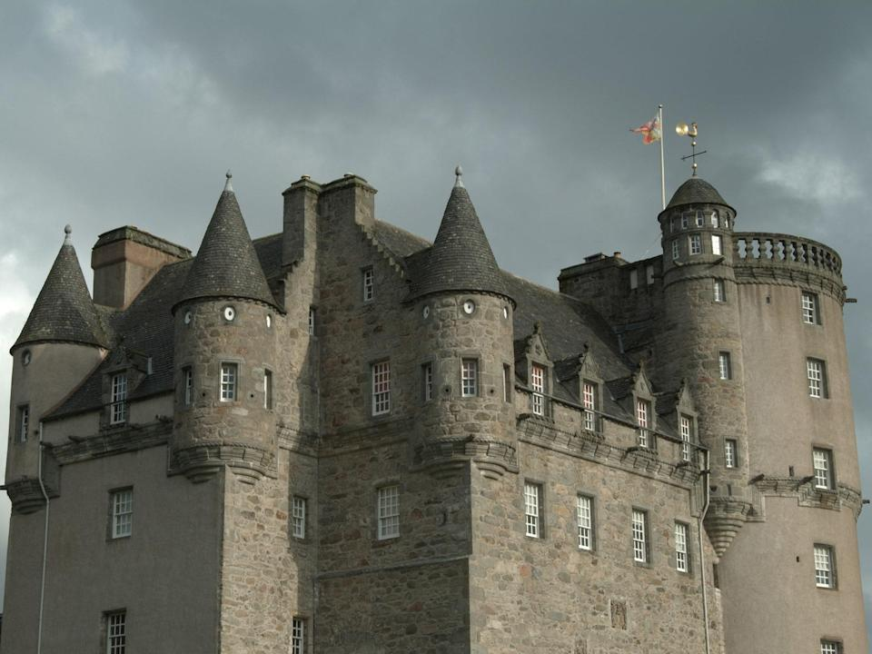 "Built between 1575 and 1636 in east <a href=""https://www.cntraveler.com/destinations/edinburgh?mbid=synd_yahoo_rss"" rel=""nofollow noopener"" target=""_blank"" data-ylk=""slk:Scotland"" class=""link rapid-noclick-resp"">Scotland</a>, Castle Fraser is famous for its <a href=""https://www.cntraveler.com/gallery/9-modern-architectural-masterpieces-you-can-stay-in?mbid=synd_yahoo_rss"" rel=""nofollow noopener"" target=""_blank"" data-ylk=""slk:elaborate architecture"" class=""link rapid-noclick-resp"">elaborate architecture</a>, beautiful farmland, and <a href=""https://www.cntraveler.com/galleries/2014-03-22/photos-spring-botanic-gardens-arboretums?mbid=synd_yahoo_rss"" rel=""nofollow noopener"" target=""_blank"" data-ylk=""slk:gardens"" class=""link rapid-noclick-resp"">gardens</a>—and a somewhat horrifying myth. According to legend, a young princess once staying at the castle was brutally murdered in her sleep. Her body was dragged down the stone stairs, leaving a trail of blood behind. As hard as they tried, the occupants could not scrub the blood stains from the stairs, so they decided to cover the staircase in wood paneling, which remains to this day. Some say the ghost of the princess still roams the halls of the castle at night."
