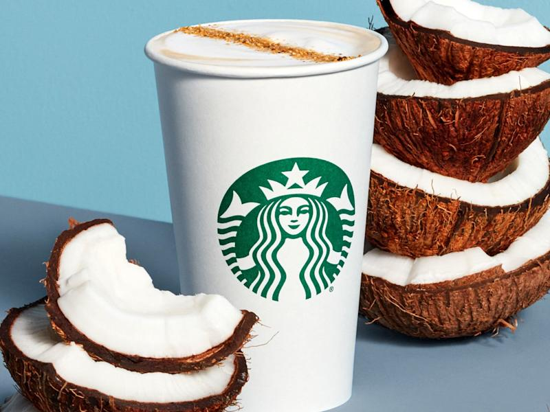 Starbucks Adds Two New Non-Dairy Drinks to the Menu