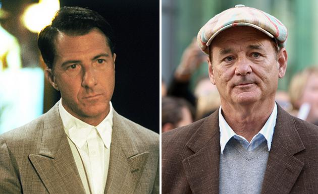 """Dustin Hoffman won an Oscar for his impressive portrayal in """"Rain Man."""" But Bill Murray was initially considered for the role."""