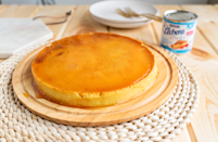 """<p>A <a href=""""https://www.thedailymeal.com/cook/15-most-difficult-impressive-desserts-make-slideshow?referrer=yahoo&category=beauty_food&include_utm=1&utm_medium=referral&utm_source=yahoo&utm_campaign=feed"""" rel=""""nofollow noopener"""" target=""""_blank"""" data-ylk=""""slk:sure-to-impress dessert easy enough for you to make yourself"""" class=""""link rapid-noclick-resp"""">sure-to-impress dessert easy enough for you to make yourself</a>, flan is creamy and scrumptious and great for a <a href=""""https://www.thedailymeal.com/entertain/fine-dining-dinner-home?referrer=yahoo&category=beauty_food&include_utm=1&utm_medium=referral&utm_source=yahoo&utm_campaign=feed"""" rel=""""nofollow noopener"""" target=""""_blank"""" data-ylk=""""slk:fancy dinner at home"""" class=""""link rapid-noclick-resp"""">fancy dinner at home</a>. </p> <p><strong><a href=""""https://www.thedailymeal.com/best-recipes/traditional-flan?referrer=yahoo&category=beauty_food&include_utm=1&utm_medium=referral&utm_source=yahoo&utm_campaign=feed"""" rel=""""nofollow noopener"""" target=""""_blank"""" data-ylk=""""slk:For the Flan recipe, click here."""" class=""""link rapid-noclick-resp"""">For the Flan recipe, click here.</a></strong></p>"""