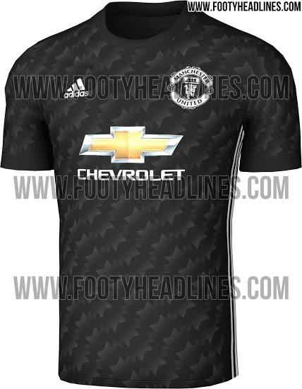Manchester united Away kit shirt 2017/18