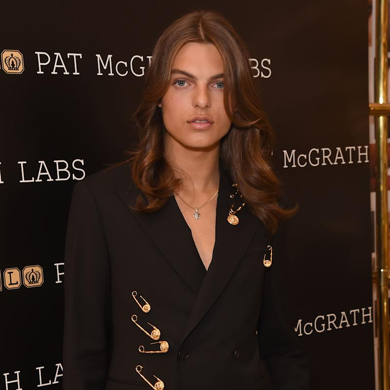 Pat McGrath Labs 'Sublime Perfection: The System' Photocall with Damian Hurley (David M. Benett / Dave Benett/Getty Images for Pat)