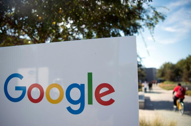 Google is in the crosshairs of antitrust regulators in Washington and Brussels (AFP Photo/JOSH EDELSON)
