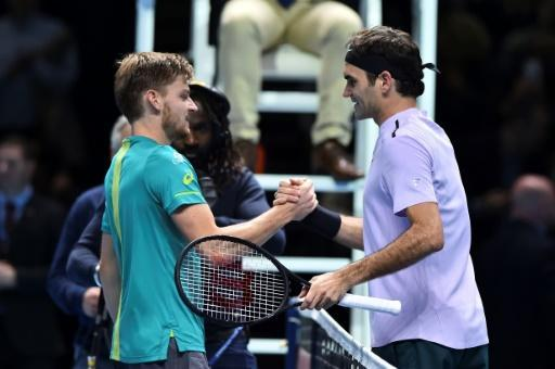 <p>Goffin shocks Federer, faces Dimitrov in ATP Finals decider</p>